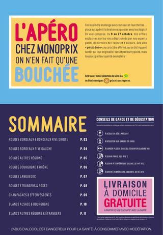 Catalogue Monoprix en cours, Foire aux vins : la sélection à picorer , Page 2