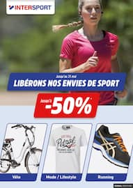 Catalogue Intersport en cours, Libérons nos envies de sport, Page 1