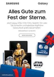 Aktueller Samsung Prospekt, Alles Gute zum Fest der Sterne., Seite 1