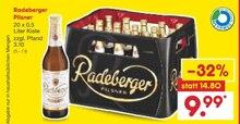 Alkoholische Getraenke von Radeberger im aktuellen Netto Marken-Discount Prospekt für 9.99€