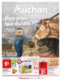 Catalogue Auchan en cours, Bien plus que du lait !, Page 1