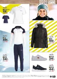 Catalogue Go Sport en cours, Objectif Noël, Page 29