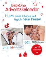 Aktueller BabyOne Prospekt, BabyOne Adventskalender, Seite 1