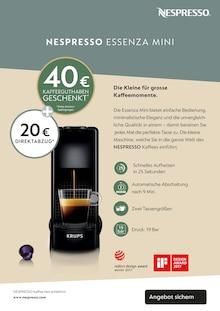 Getraenke im Nespresso Prospekt EINLADUNG zu einem NESPRESSO Kaffee auf S. 8