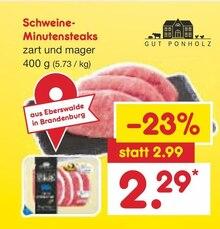 Lebensmittel von Gut Ponholz im aktuellen Netto Marken-Discount Prospekt für 2.29€