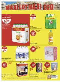 Catalogue Casino Supermarchés en cours, Maxi lot maxi éco, Page 6