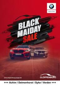 Aktueller BMW Prospekt, Black Maiday Sale, Seite 1
