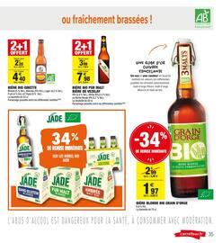 Catalogue Carrefour Market en cours, Les promos se mettent à table, Page 35