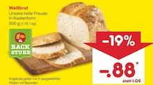 Brot im aktuellen Netto Marken-Discount Prospekt für 0.88€