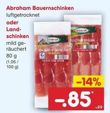 Lebensmittel von Abraham im aktuellen Netto Marken-Discount Prospekt für 0.85€
