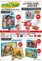 Catalogue Stokomani en cours, Le catalogue de jouets : le père Noël arrive !, Page 1