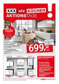 Aktueller XXXLutz Möbelhäuser Prospekt, Küchen Aktionstage, Seite 1