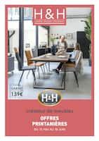 Catalogue H&H en cours, Offres printanières, Page 1