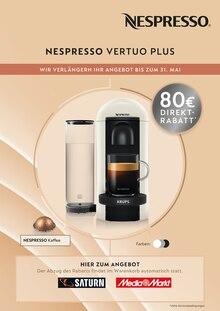 Nespresso Prospekt Wir verlängern Ihr Angebot bis zum 31. Mai
