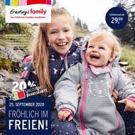 Aktueller Ernsting's family Prospekt, Fröhlich im Freien., Seite 1