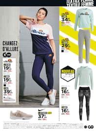 Catalogue Go Sport en cours, Objectif petits prix, Page 7