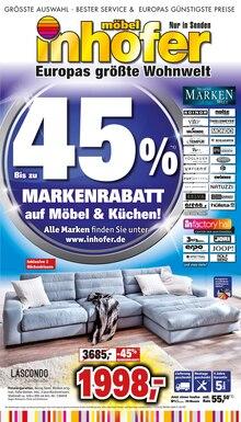 Möbel Inhofer - Markenrabatt auf Möbel & Küchen!