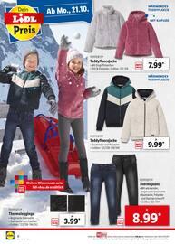 Aktueller Lidl Prospekt, Perfekt gekleidet für den Winter, Seite 8