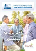 Aktueller Th. Lückenotto GmbH  Sanitätshaus Orthopädie- und Rehatechnik Prospekt, Fit und mobil durch den Frühling, Seite 1