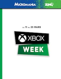 Catalogue Micromania Zing en cours, Xbox week, Page 1