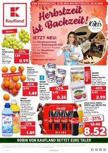 Kaufland Prospekt für Saalfeld/Saale: JETZT WIRD GESPART!, 40 Seiten, 13.10.2021 - 20.10.2021