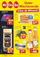 Aktueller Netto Marken-Discount Prospekt, Oster-Wochenende, Seite 1