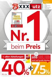 Aktueller XXXLutz Möbelhäuser Prospekt, Nr. 1 beim Preis!, Seite 1