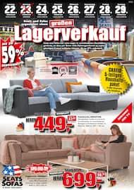 Aktueller Seats and Sofas Prospekt, Lagerverkauf, Seite 1