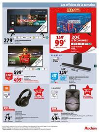 Catalogue Auchan en cours, 100 jours étonnants avant 2020, Page 39