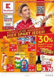 Aktueller Kaufland Prospekt, KÖNIGLICHE ANGEBOTE: HIER SPART JEDER!, Seite 1