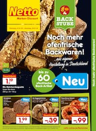 Aktueller Netto Marken-Discount Prospekt, Die neue Back-Tradition, Seite 1