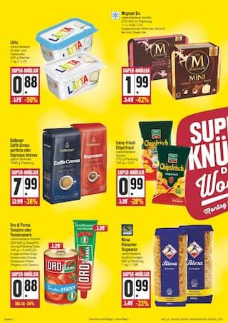 Aktueller EDEKA Prospekt, Wir lieben Lebensmittel!, Seite 2