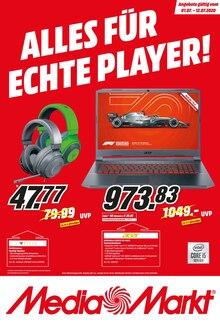 MediaMarkt Prospekt ALLES FÜR ECHTE PLAYER!