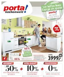Aktueller porta Möbel Prospekt, Aktuelle Angebote, Seite 1