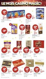 Catalogue Casino Supermarchés en cours, Le mois Casino magic !!, Page 34